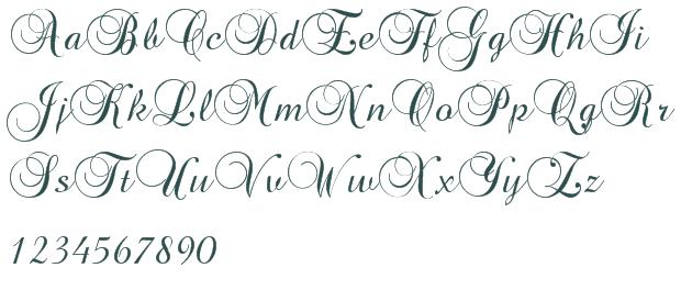 7 Brock Script Font Images
