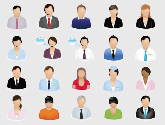 Business Person Icon Vector