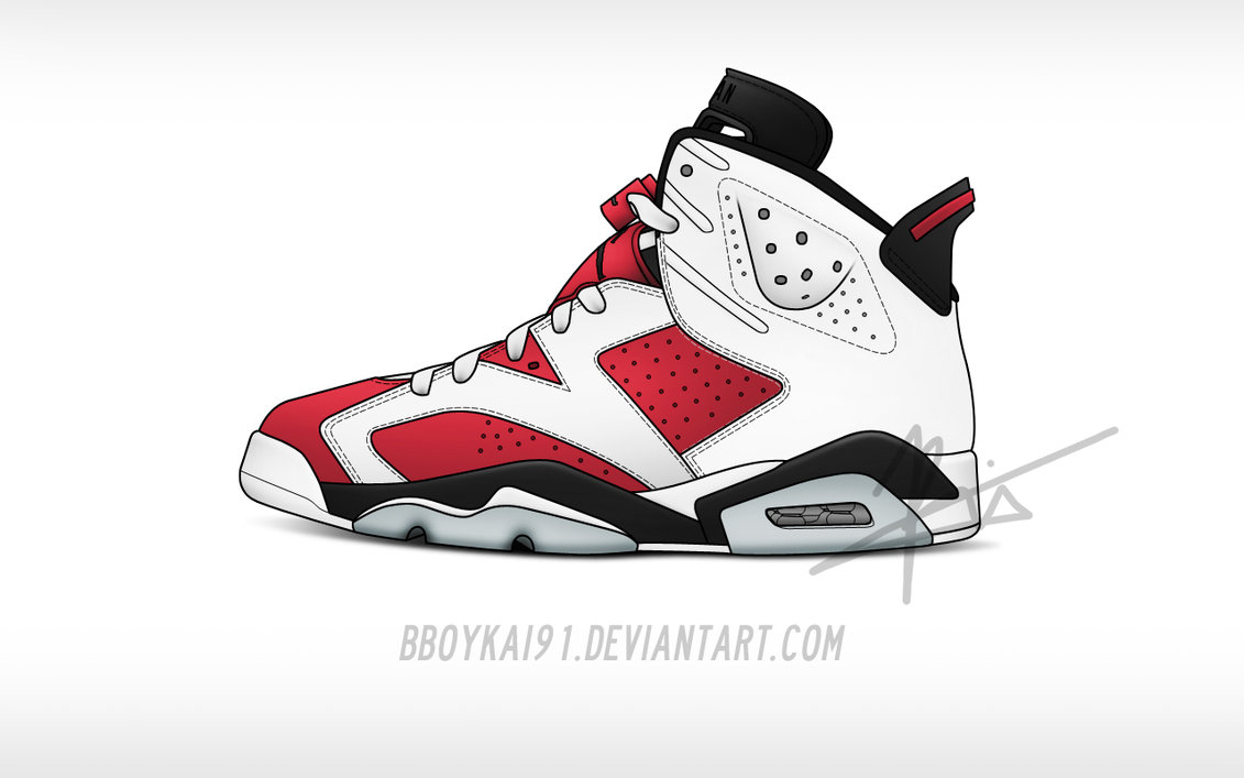 Charming nike vector images