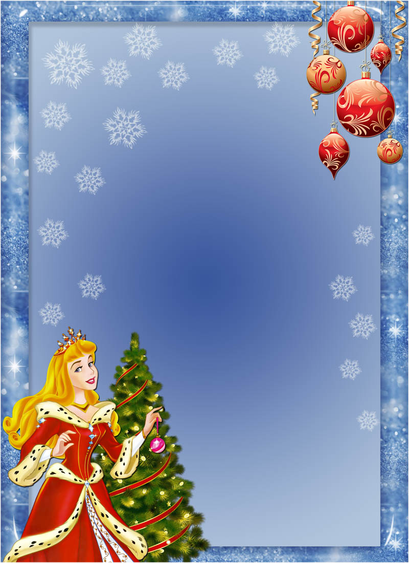 9 Christmas Frame PSD Template Images