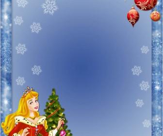 Christmas Photoshop Frames Template