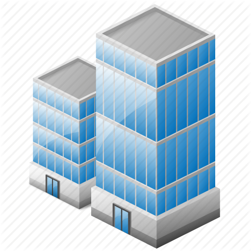 City Office Building Icon