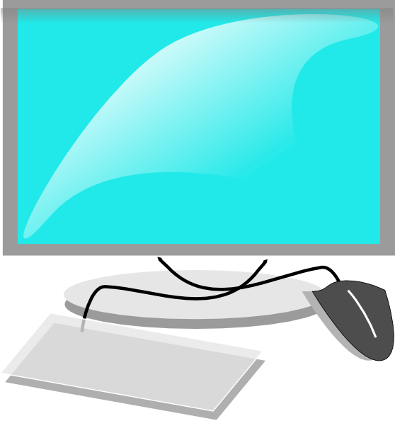 16 Computer Icon Clip Art Free Images