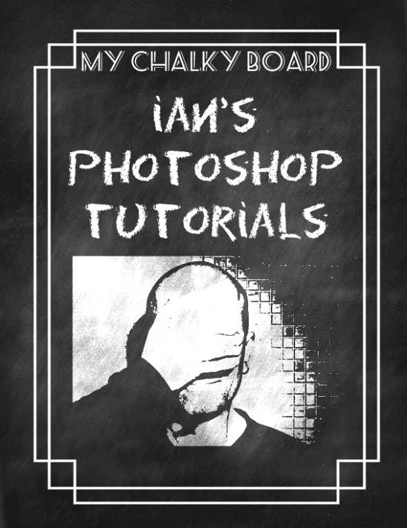 Create Chalkboard Effect in Photoshop
