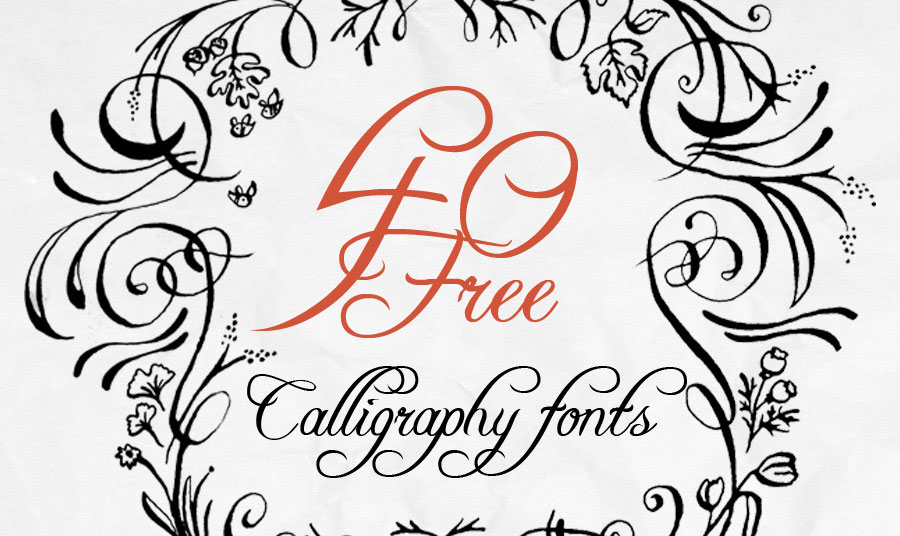 8 Creative Writing Fonts Images