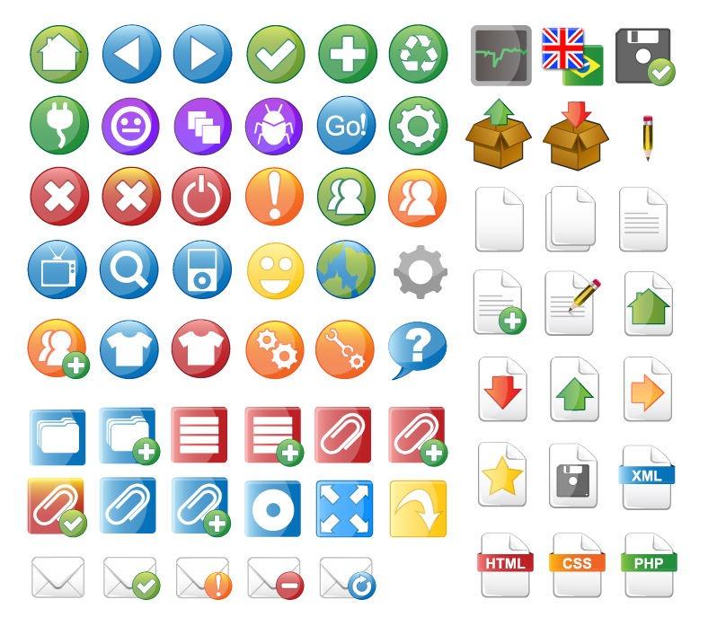 Design Web Vector Icon Sets