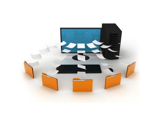 Document Record Management Icon