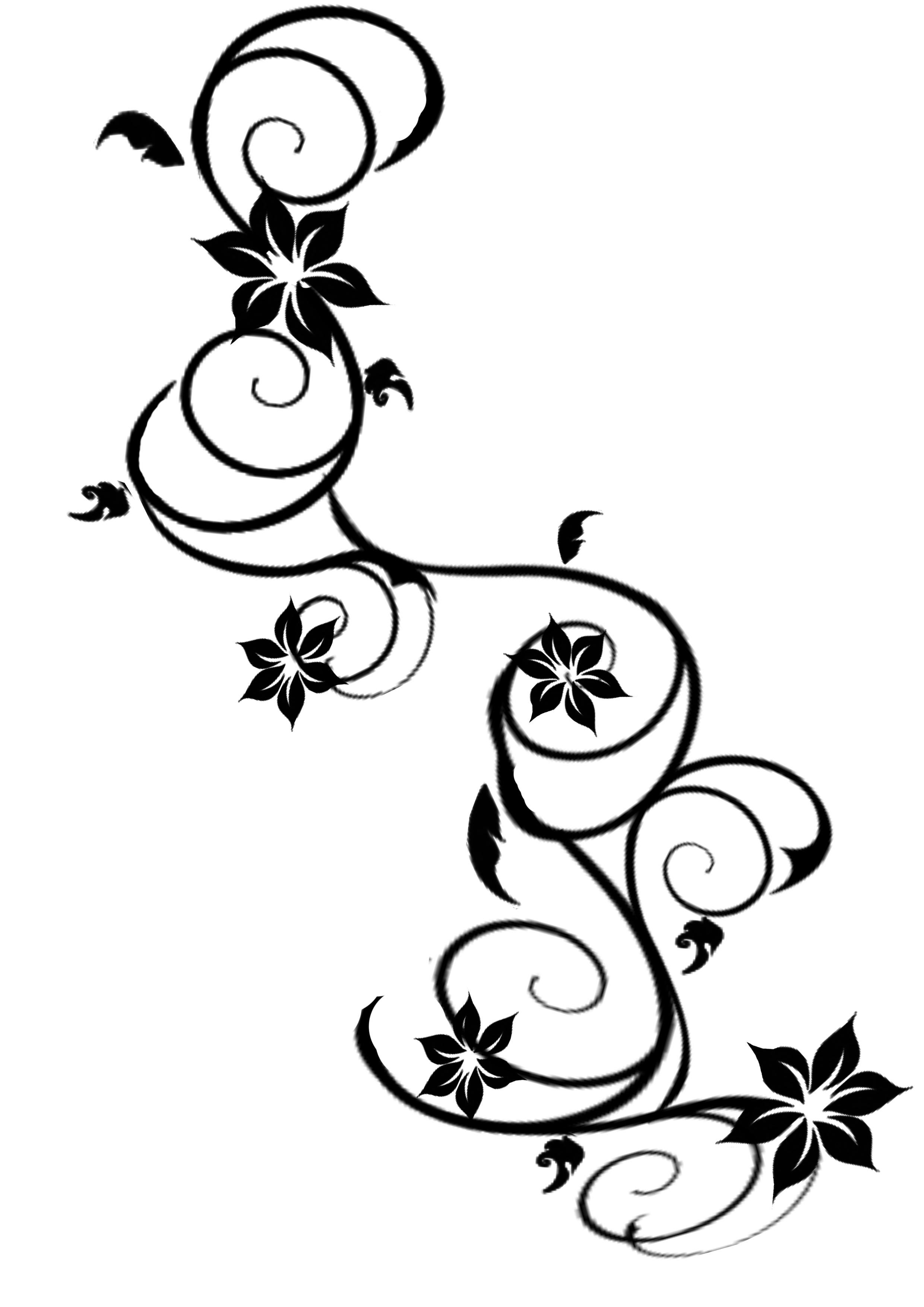 19 flowers vines design graphics images graphic design flowers clip art free vector art. Black Bedroom Furniture Sets. Home Design Ideas