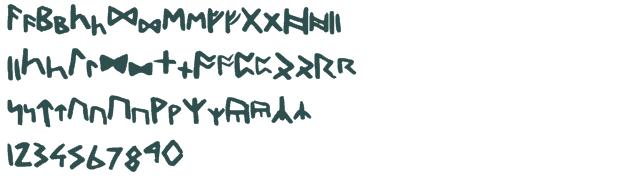 Dwarf Runes Font
