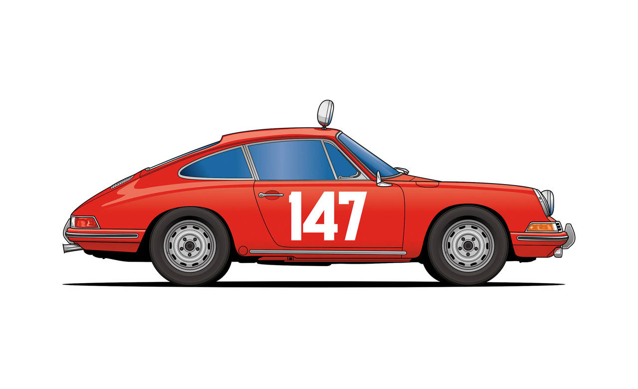 Evolution of a Porsche 911 Racing Icon