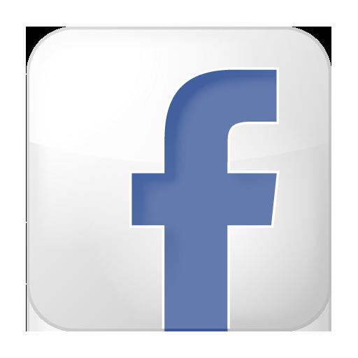 Facebook Icon White Box