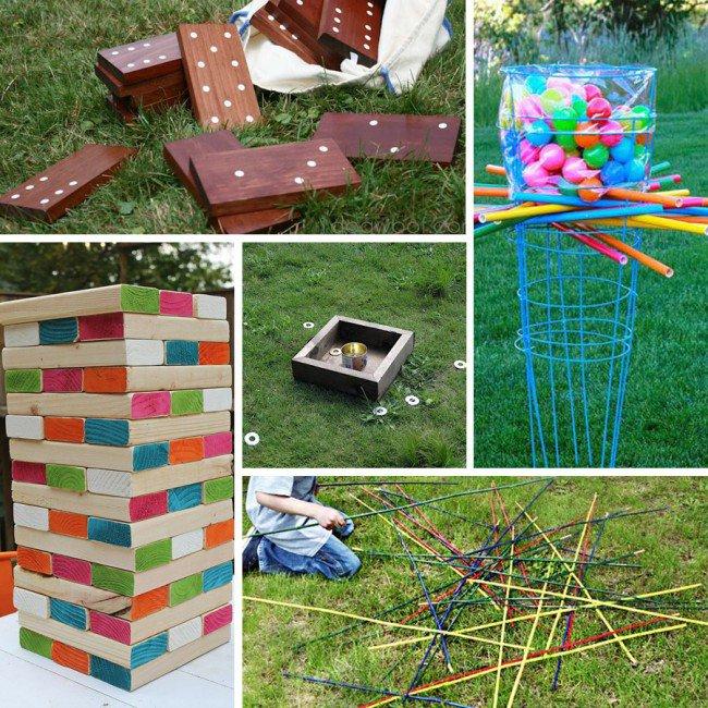 Family Outdoor Games DIY