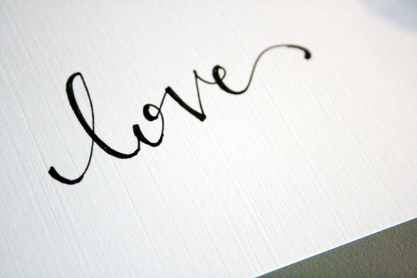 14 Love Written In Fancy Fonts Images Fancy Calligraphy