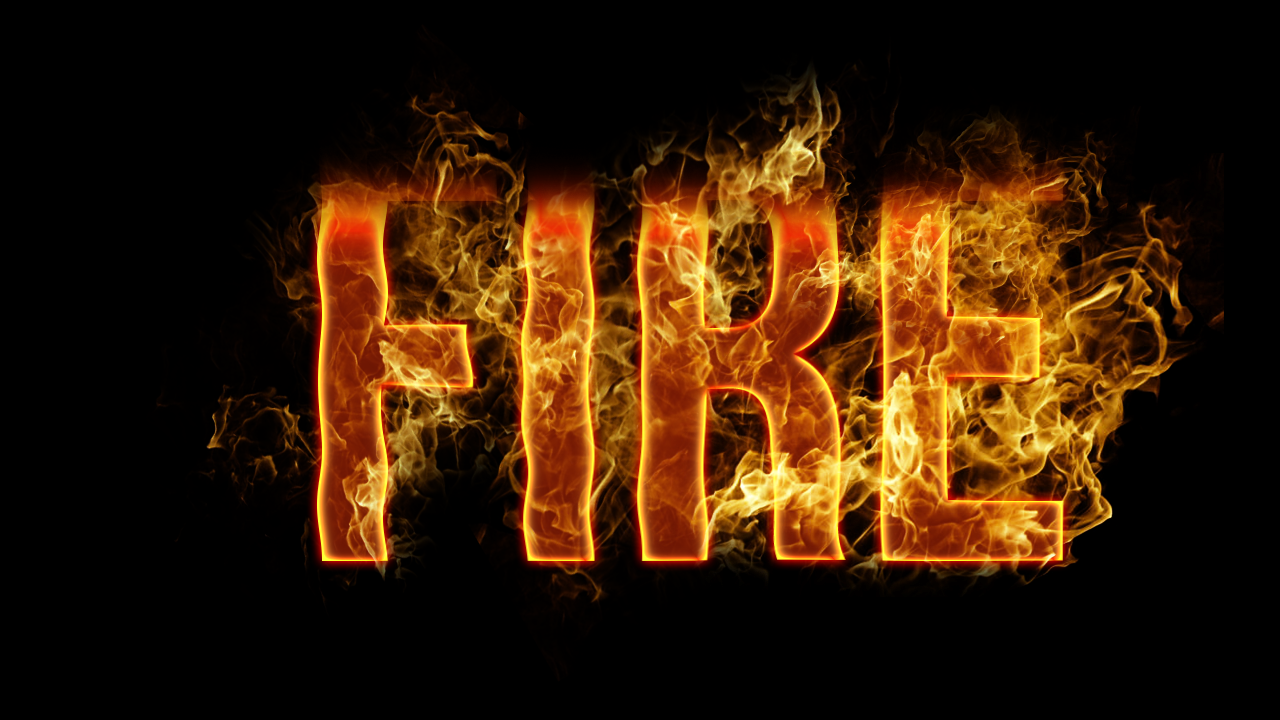7 Font That Looks Like Fire Images