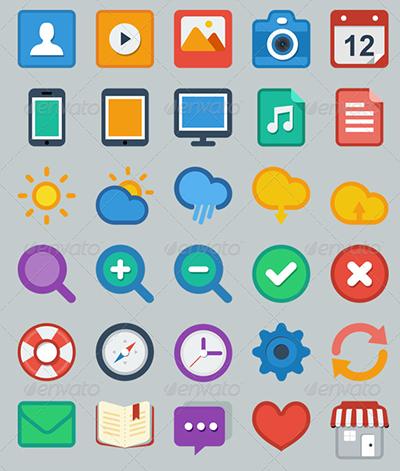 Flat UI User Icon