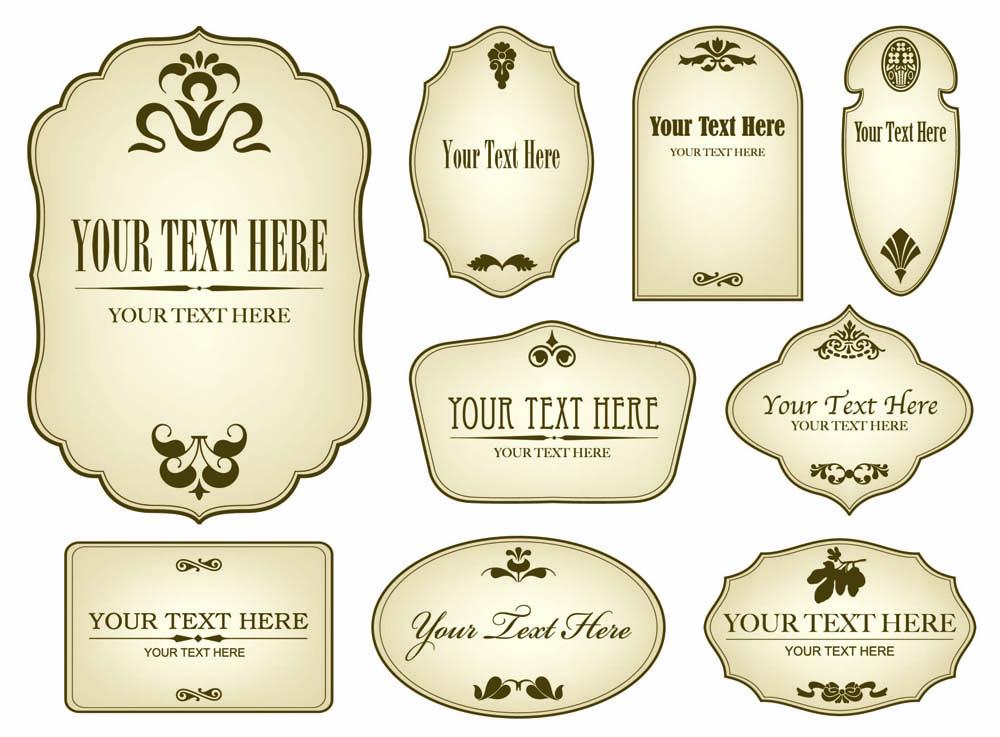 Bottle Label Design Templates Download