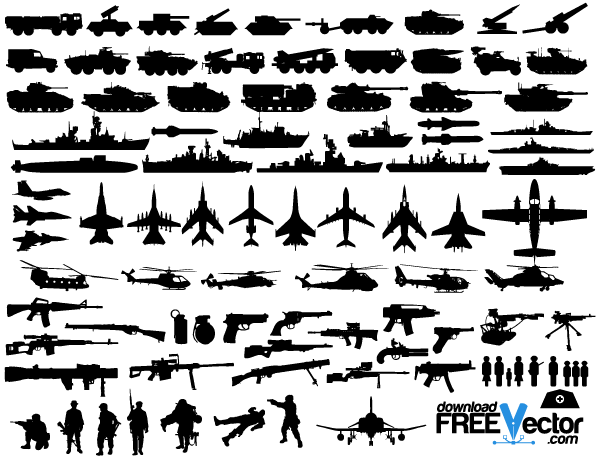 16 Military Vector Art Images