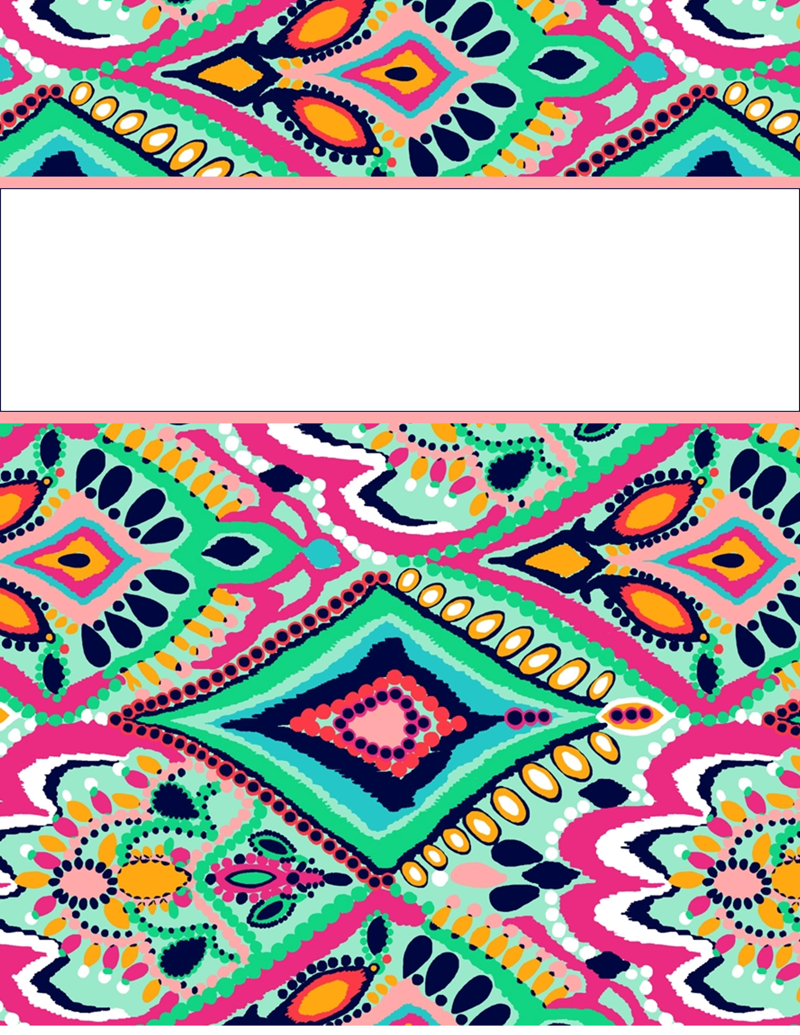 12 Binder Covers Design Template Images Printable Binder Covers