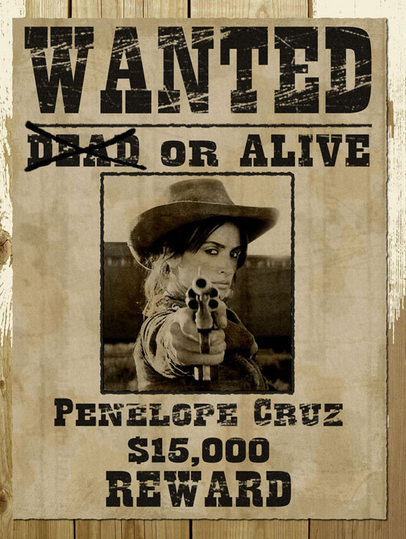 13 Wanted Poster PSD Images