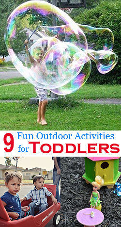Fun Outdoor Games for Toddlers