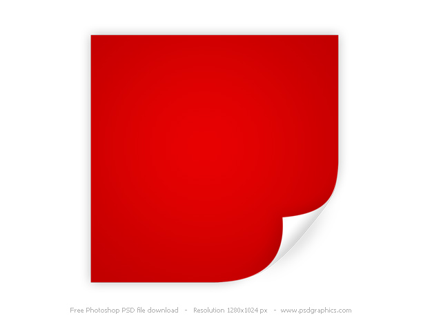 13 Corner Peel Back Paper Background PSD Images