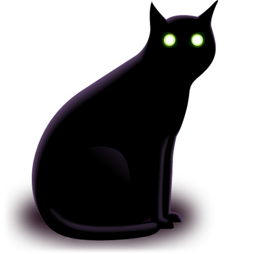 9 Black Cat Icon Images