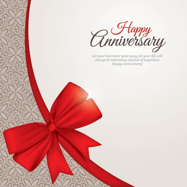 6 Happy Anniversary Vector Images