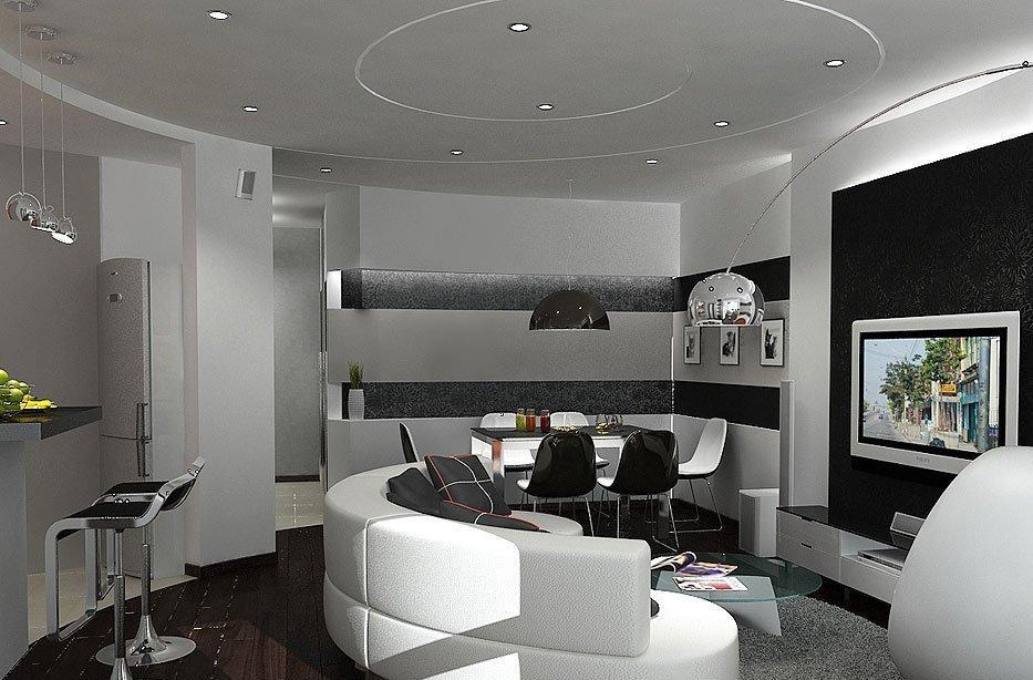 High-Tech Home Interior Design