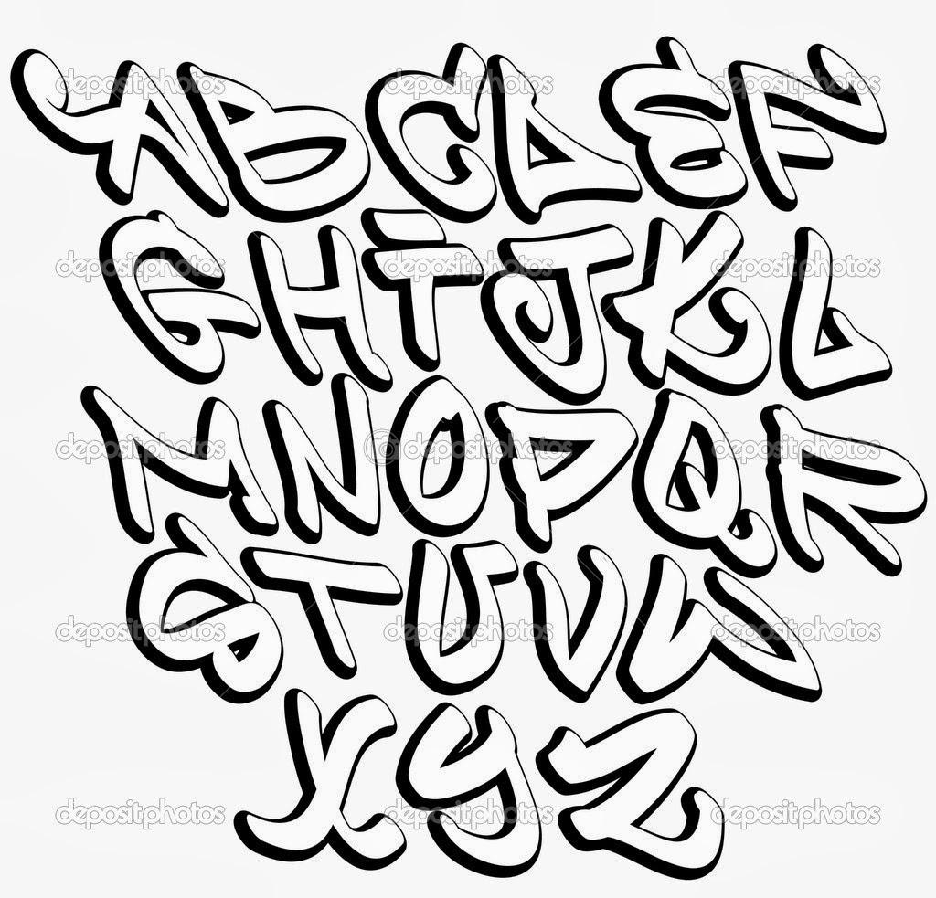 Hip Hop Graffiti Fonts