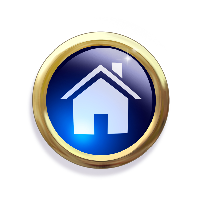 15 homepage button icon images house icon home button