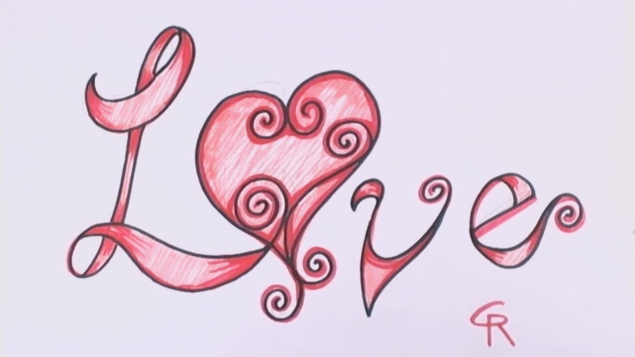 Love written in fancy fonts images calligraphy