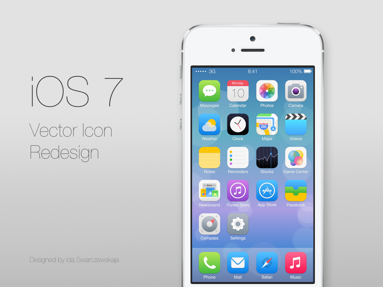 Icon iOS 7 Redesign