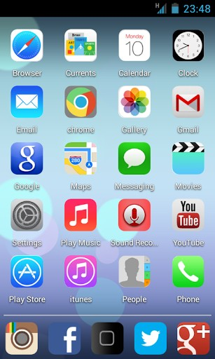18 IOS 7 Icon Pack Free Download For Android Images