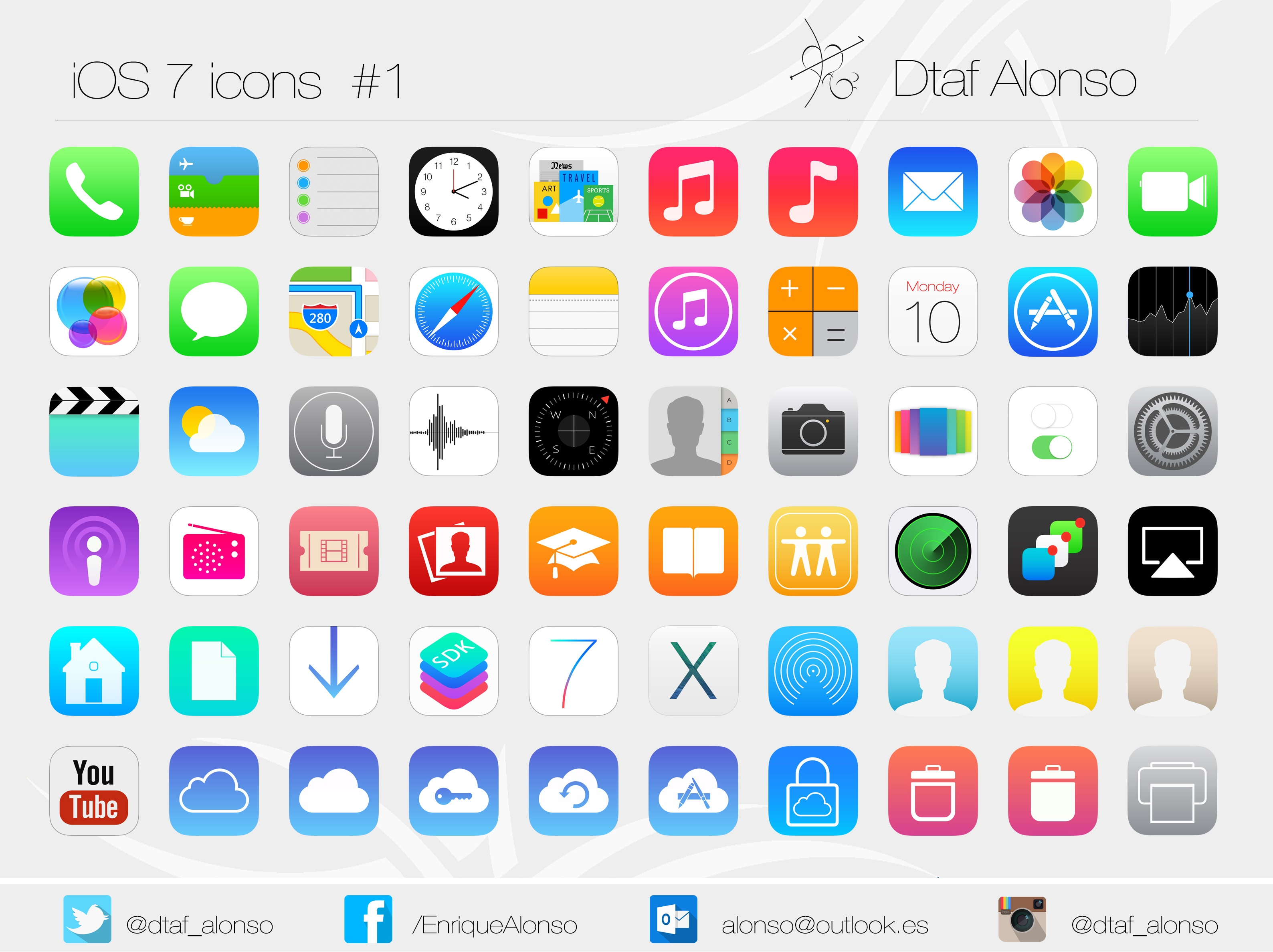 13 Apple IPhone App Icons Images - iPhone Weather App Icon, Apple