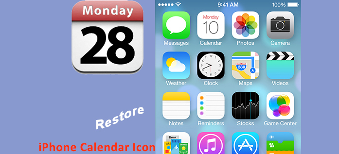 Blank Calendar App Icon : Iphone calendar icon images app