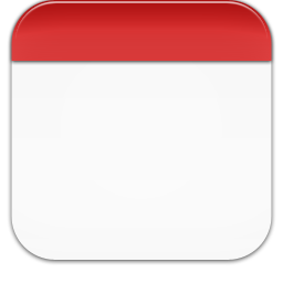 Blank Iphone Calendar Icon – imvcorp