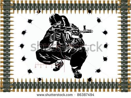 9 Urban Sniping Logo PSD Images