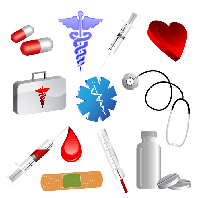 19 Medical Icons Vector Images