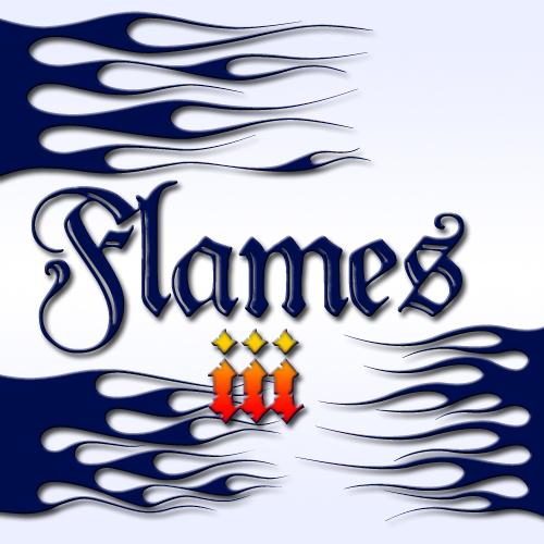Microsoft Word Font Flame
