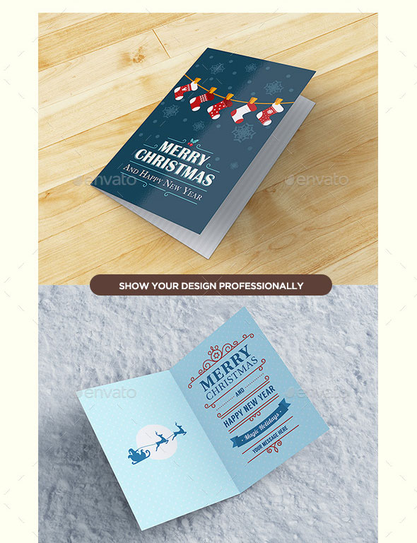 Mock Up Greeting Card Templates