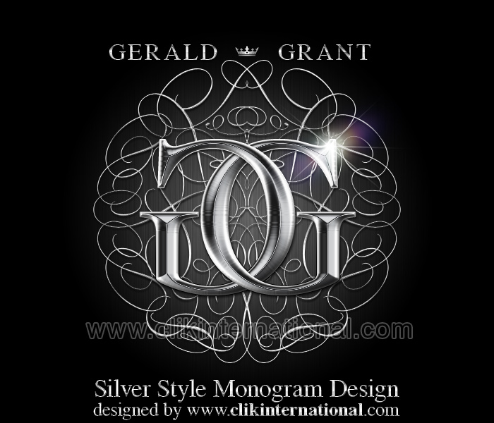 7 PSD Elegant Silver Swirl Images