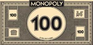 Monopoly Money 100