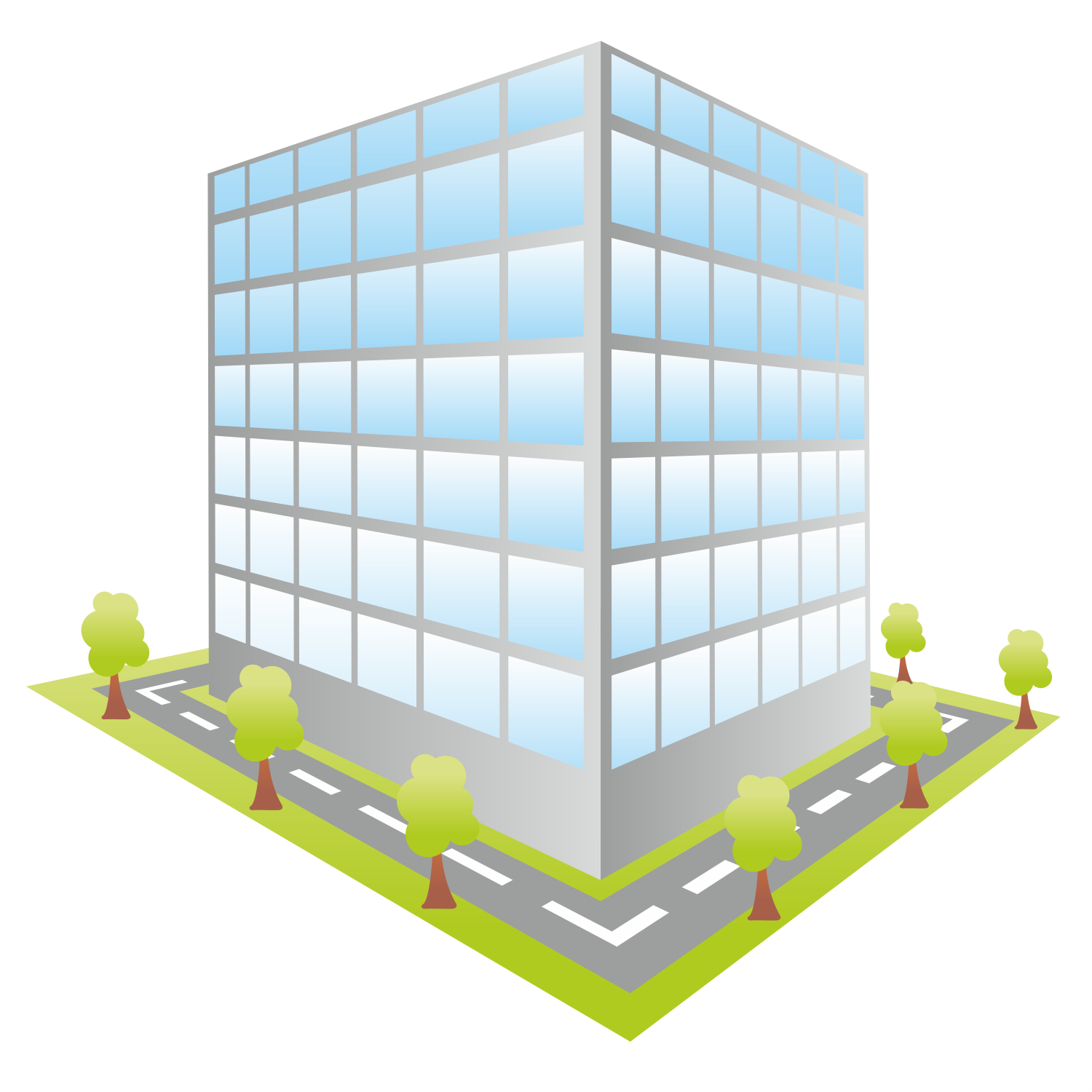 Office Building Icon Vector