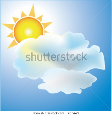 Partly Cloudy Weather Icon