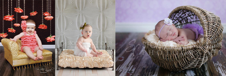 Photography Backdrops and Floors