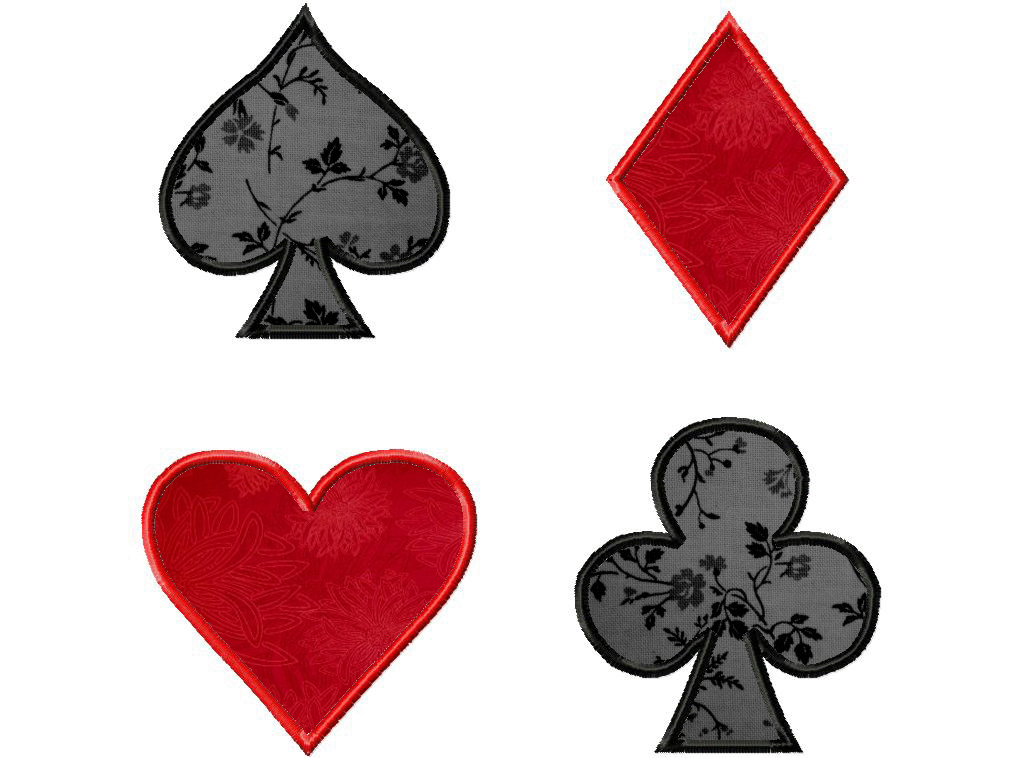 13 Playing Card Suits Designs Images