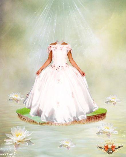 Princess Dress for Photoshop