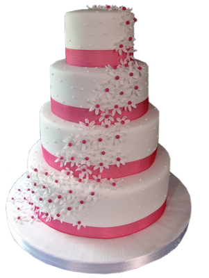 PSD Wedding Cake