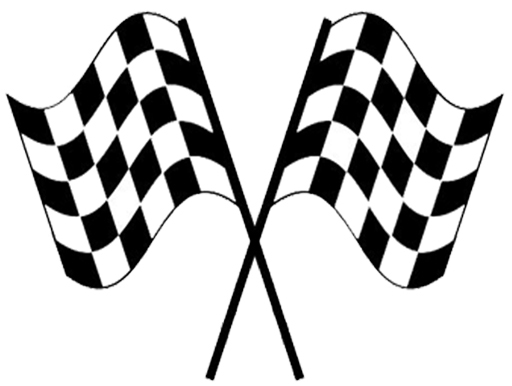 Race Car Checkered Flag Clip Art