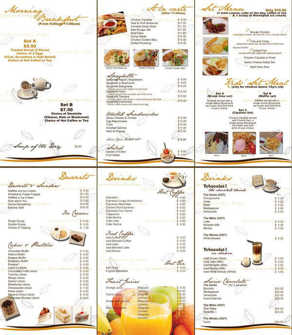 Gallery of Menu Ideas For Restaurants - Fabulous Homes Interior ...